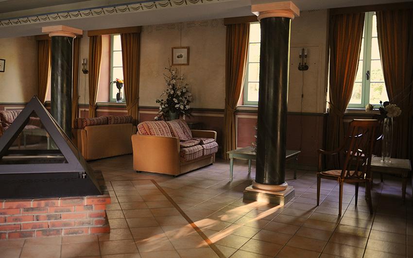 Chateau binnen gemeenchappelijke ruimte | Chateau des Gipieres