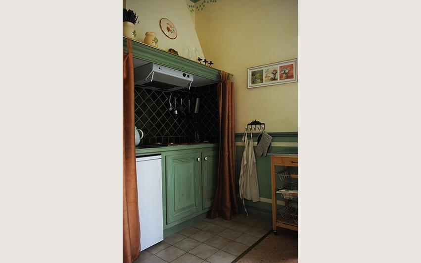 appartement chateau 23 keuken | Chateau des Gipieres